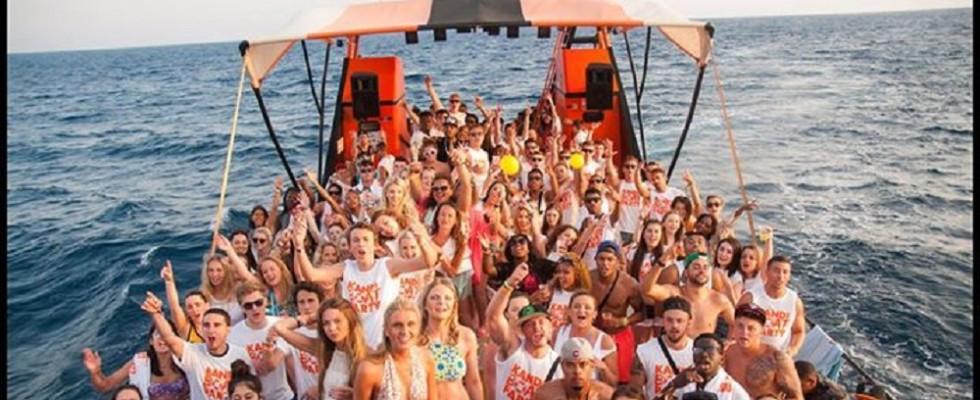 Club100MegaDeal Napa Rocks Festival 2016 Kandi Beach Party Kandi Boat ...