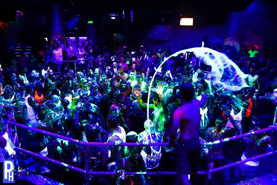 UV Paint Party AyiaNapa Cyprus