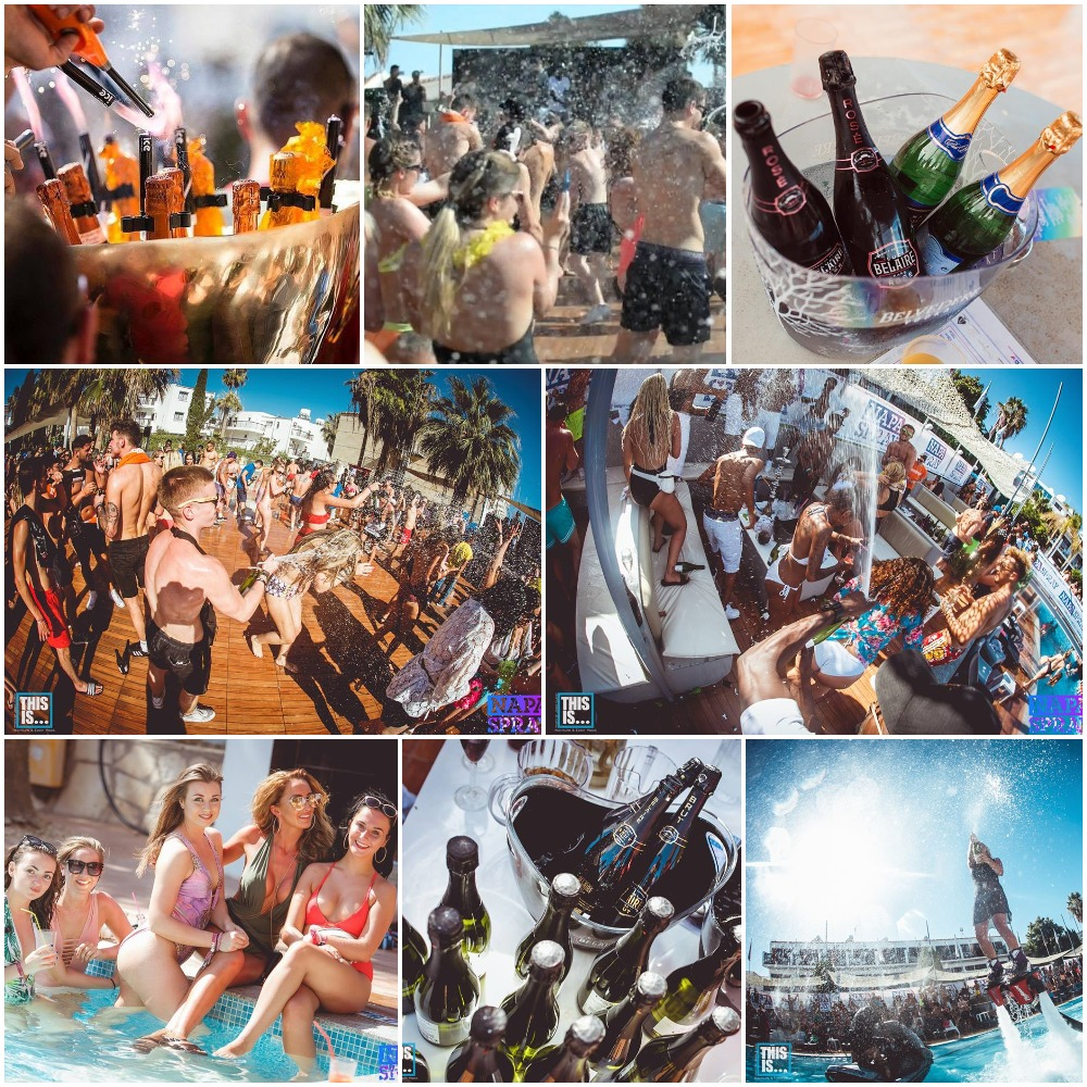 Napa Spray Pool Party
