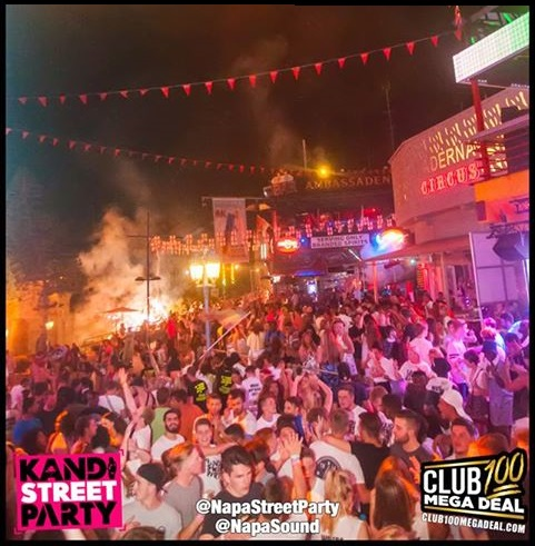 Kandi Street Party - Ayia Napa