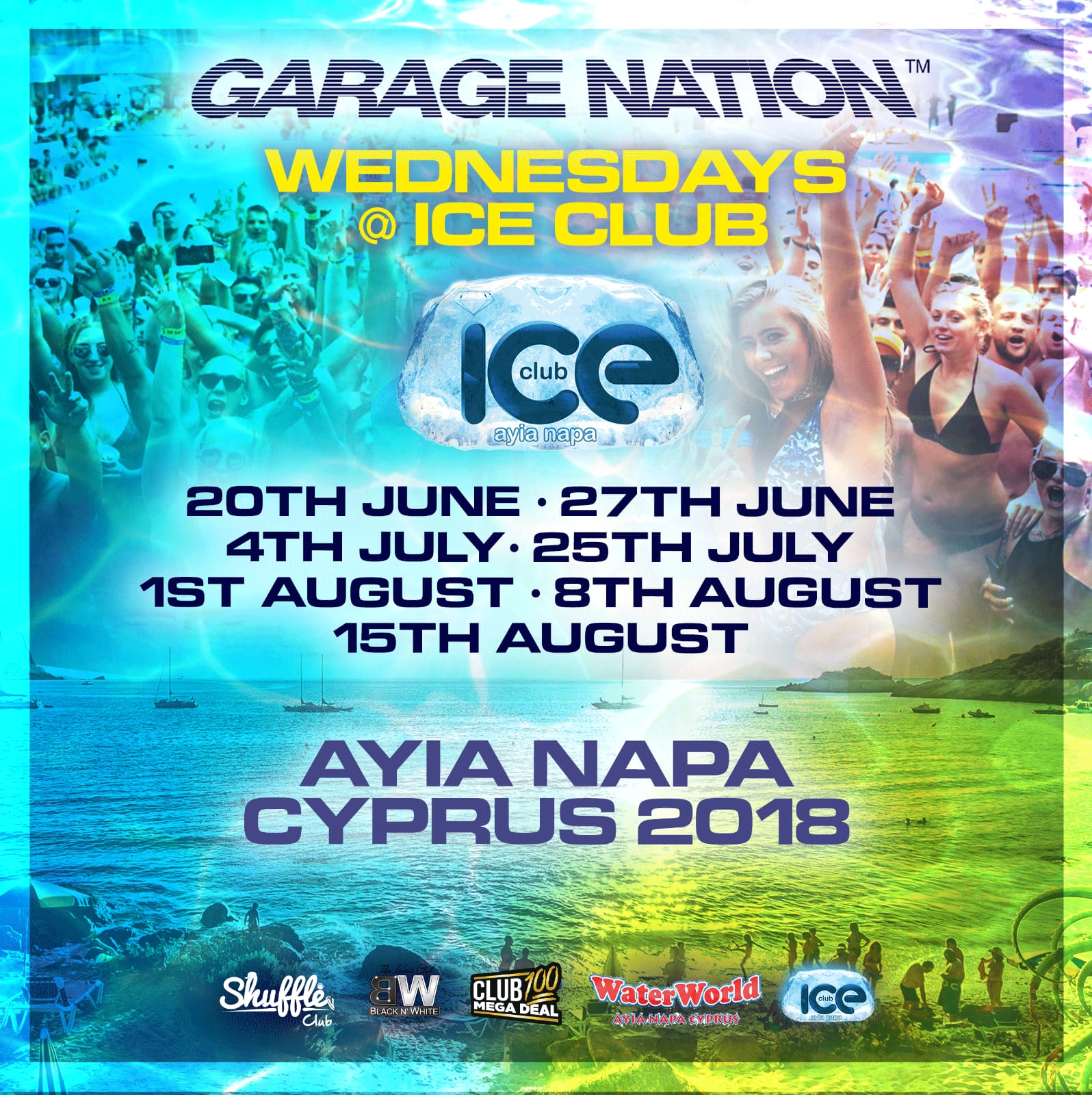 Garage Nation Ayia Napa Event