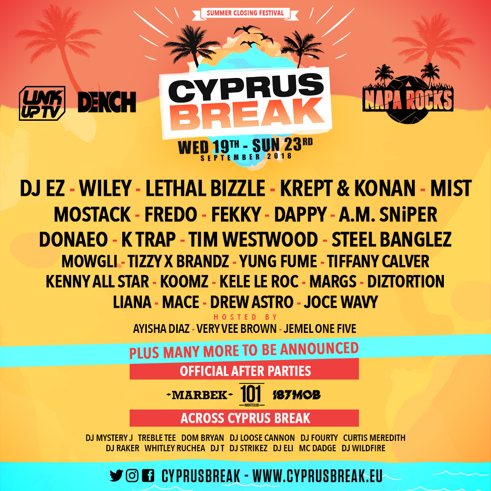 CyprusBreak Summer Closing Festival September 2018