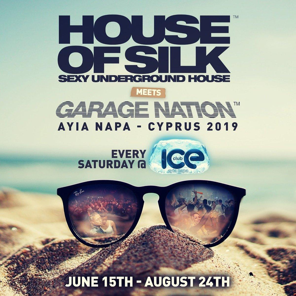 House of Silk Garage Nation Ayia Napa